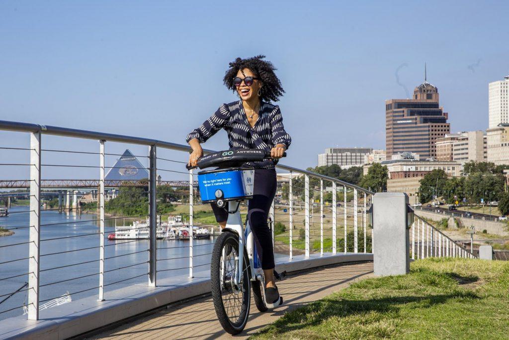 Biking_wAlexis 2019 Meetings Campaign Craig Thompson