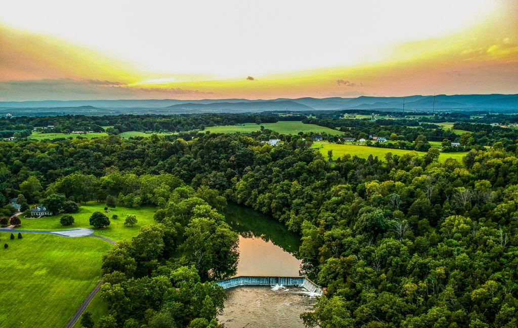 Joni Johnson - Burnshire Dam Aerial by Marty French
