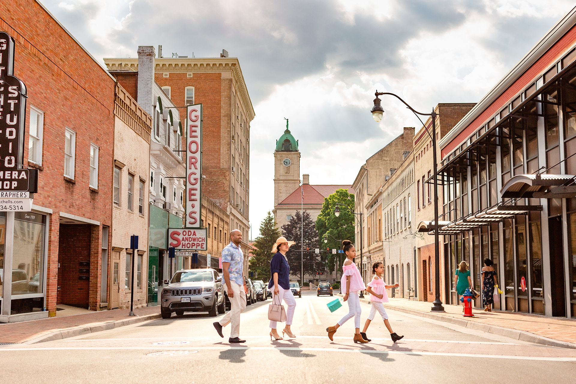 Downtown Harrisonburg - Market St