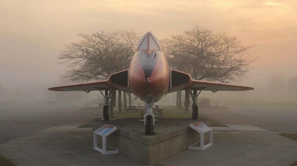 Fog Photo of Plane