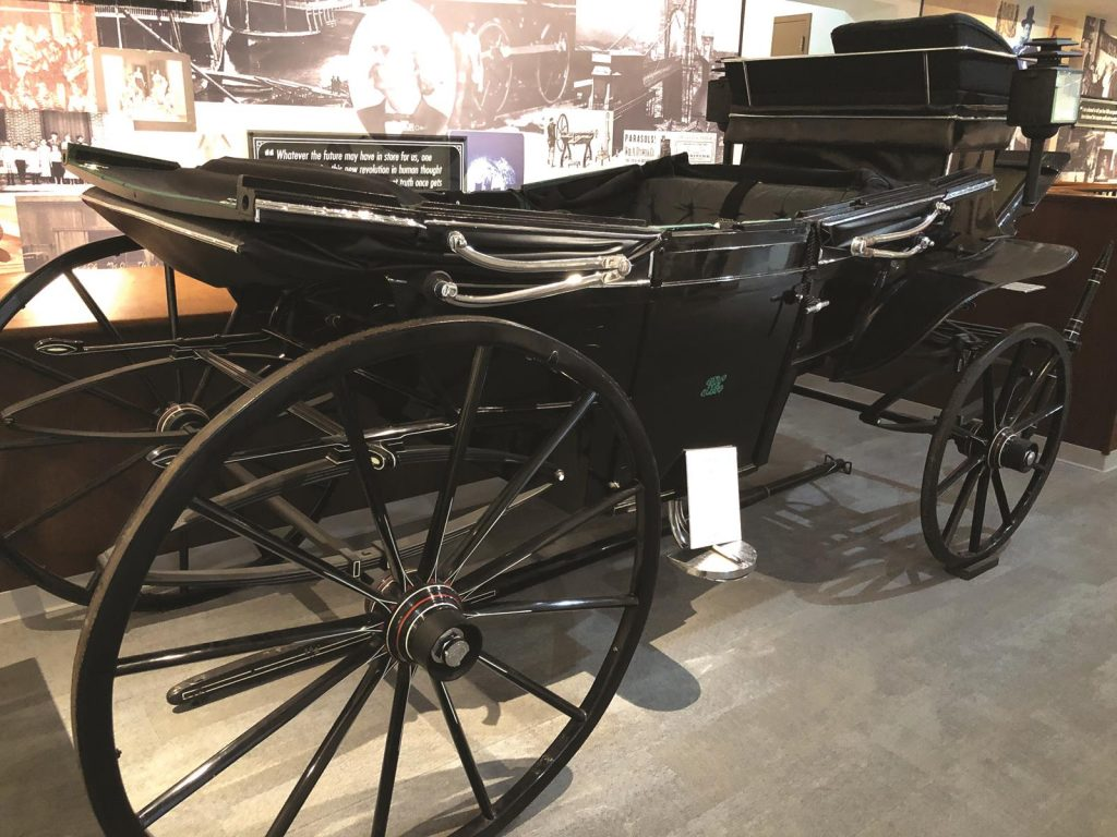 Carriage belonging to Rutherford B. Hayes, America's 19th president.