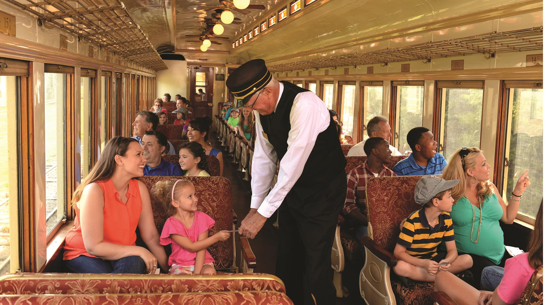 Take a train ride and explore all Grapevine has to offer.