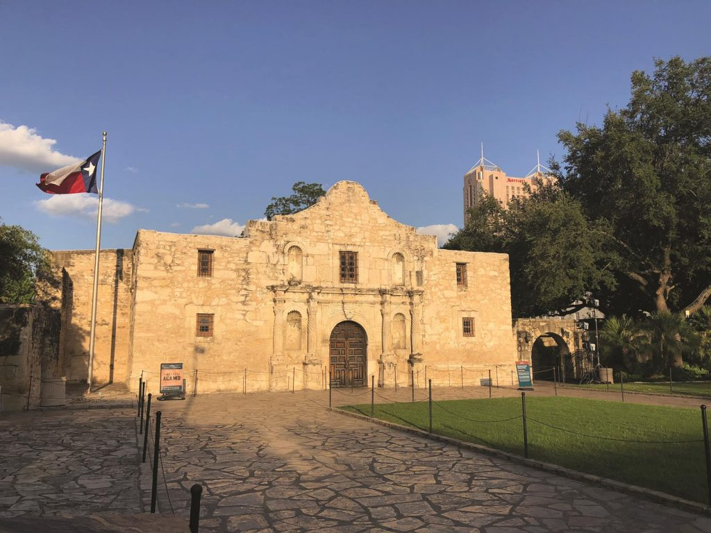 The Alamo in San Antonio has played a significant role in Texas films.