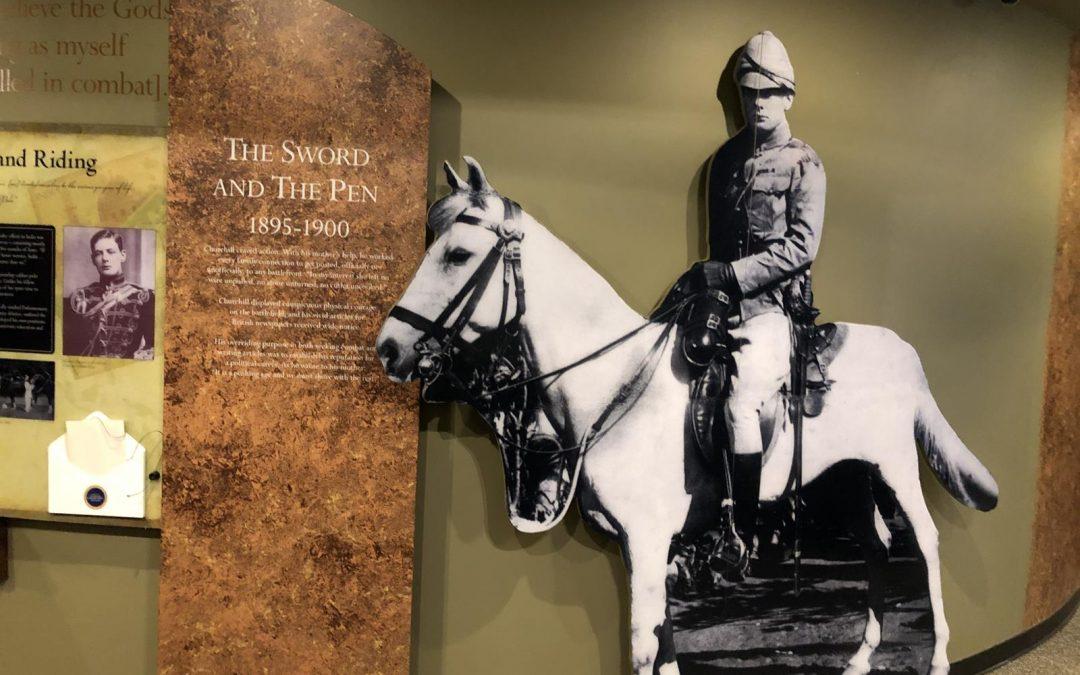 Young Churchill Exhibit