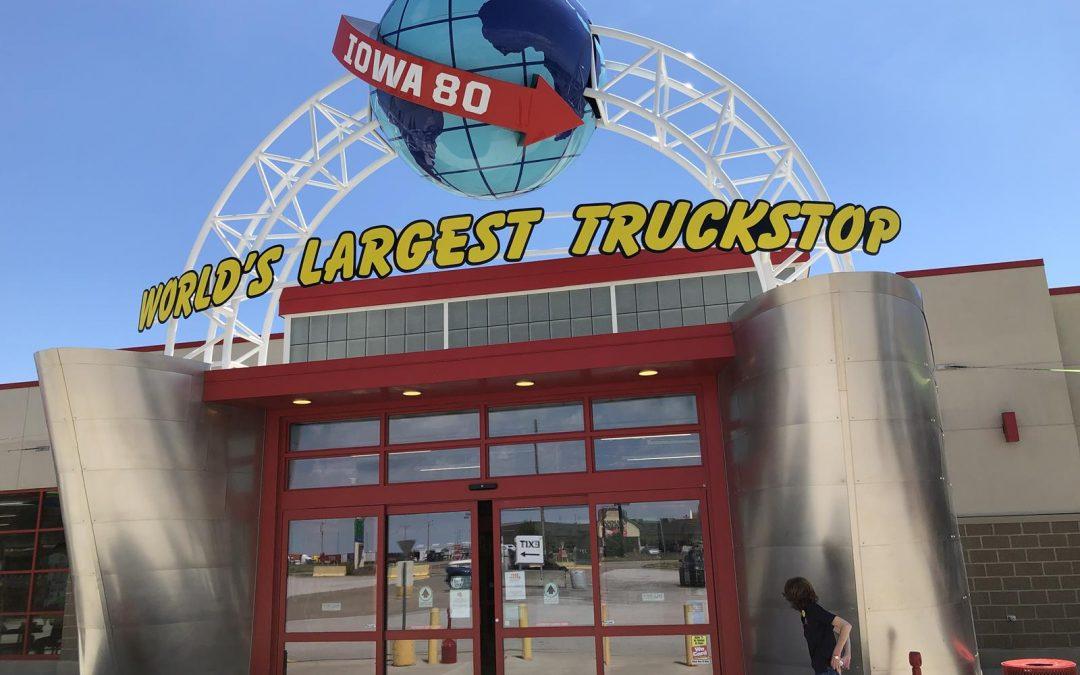 Iowa 80 Trucking Museum Entrance