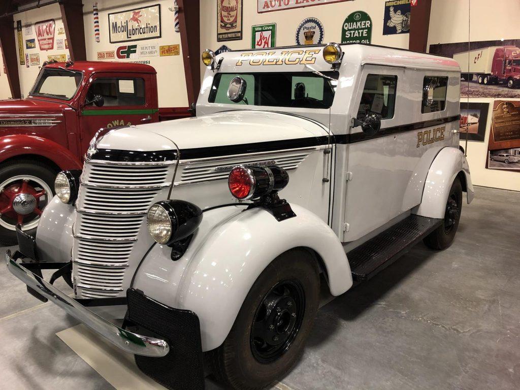 Minneapolis Police Truck