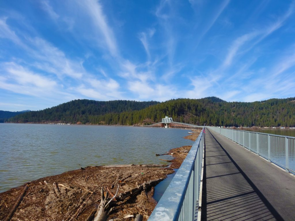 Coeur d' Alenes Trail Chatcolet Bridge credit Idaho Department of Parks and Recreation