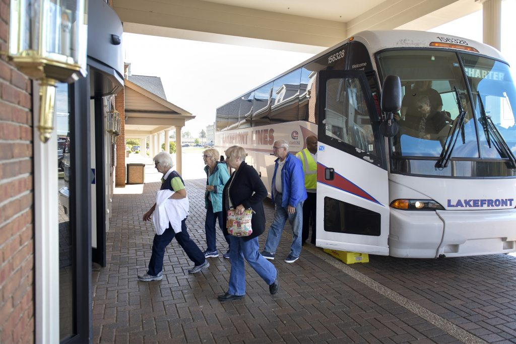 The Comfort Suites at Experience Hartville is an attractive and convenient lodging option for groups.