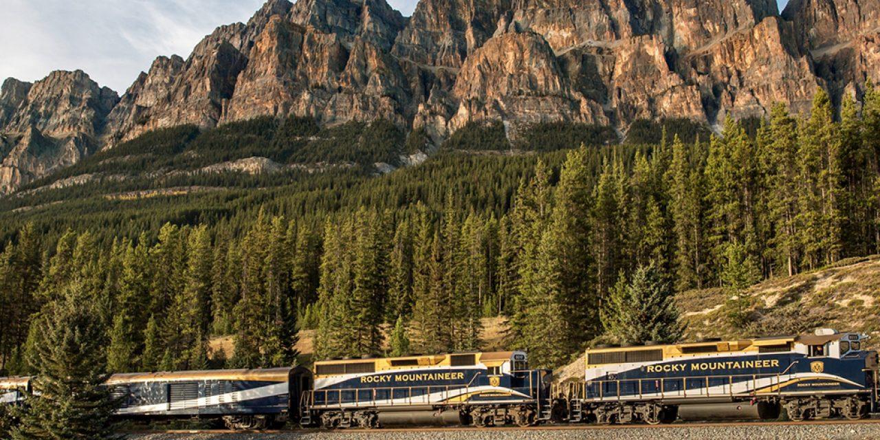 Splendid Scenery, Attentive Service on the New Rocky Mountaineer