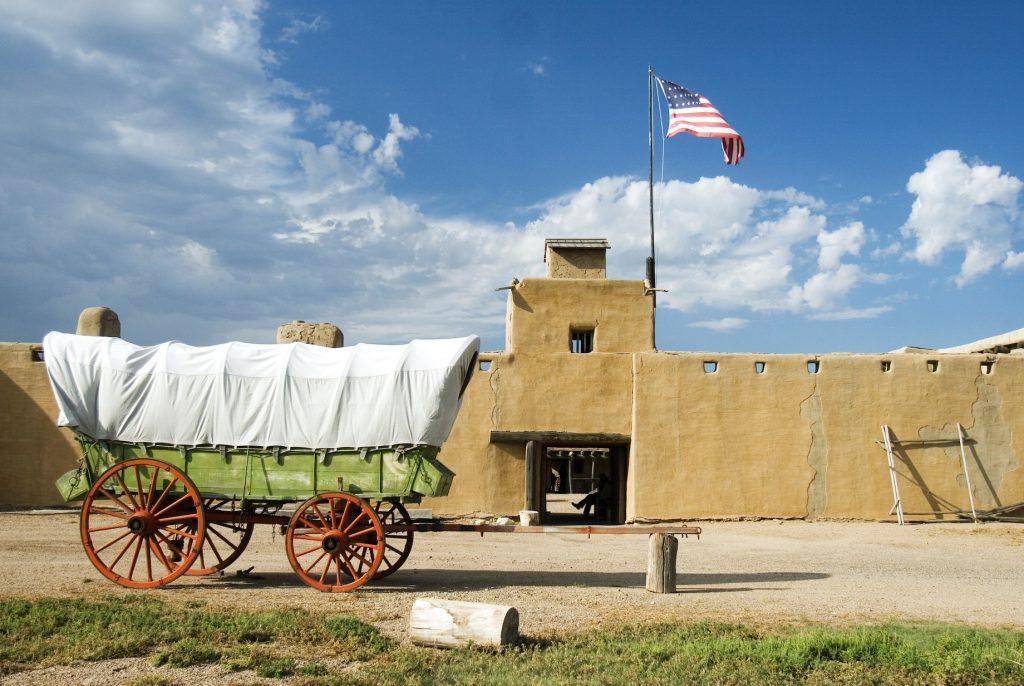 Santa Fe Trail Bents Old Fort Credit Colorado - colorado scenic byway