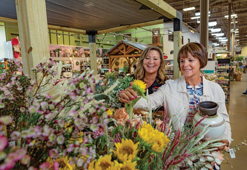 Hartville MarketPlace offers dozens of shops under one roof.