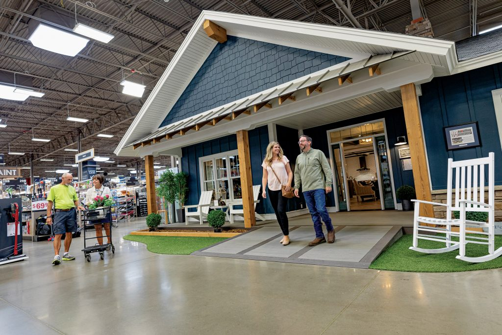 The Idea House in Hartville Hardware's Design Center is a destination in itself.