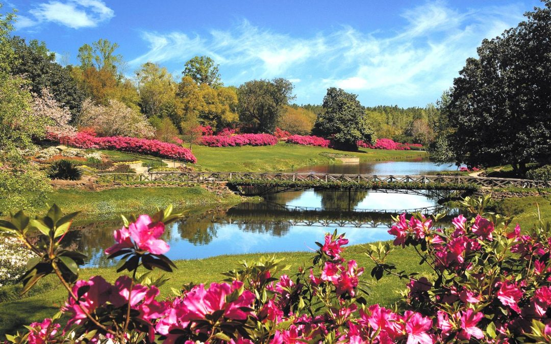 Bellingrath Gardens are lovely at all times of the year.