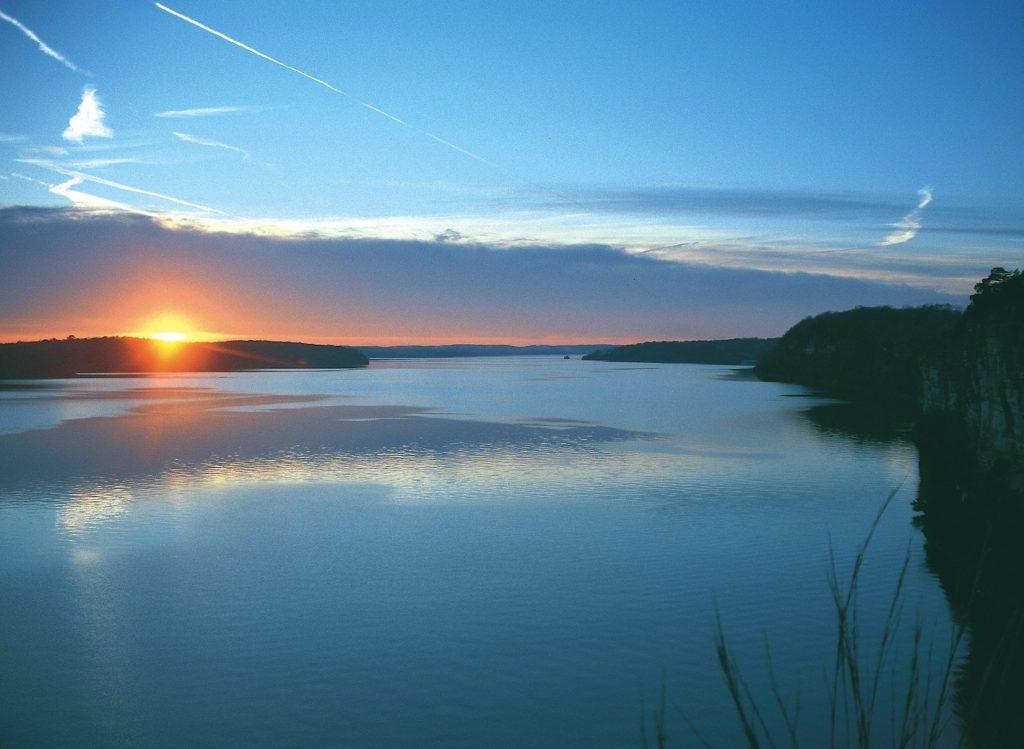Lake of the Ozarks sunset